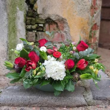 Aranjament floral cu bulbi