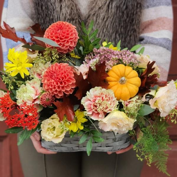 Aranjament floral de toamnă