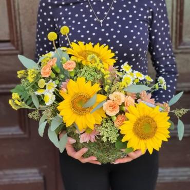Aranjament cu floarea-soarelui
