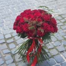 Buchet cu 51 de trandafiri